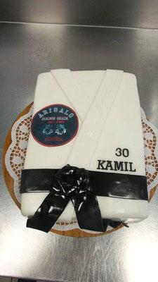 Geburtstagstorte Karate @ Renates Torten Design