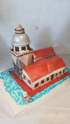 Leuchtturm Torte  @ Renates Torten Design
