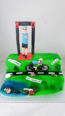 Sport  Geburtstagstorte Renates Torten Design