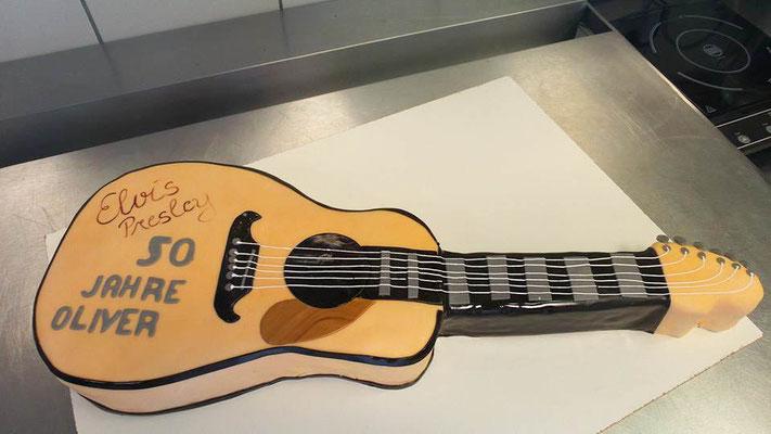 Gitarren Torte Renates Torten Design