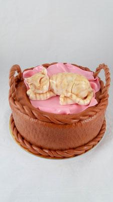 Katzen  Geburtstagstorte Renates Torten Design