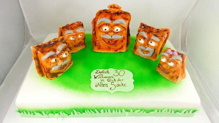 Motivtorte 30ter Geburtstag @ Renates Torten Design