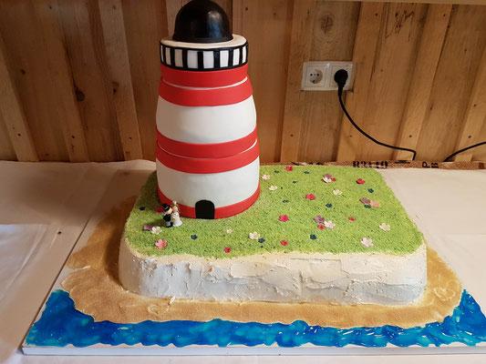 Leuchturm Torte Renates Torten Design Vorarlberg