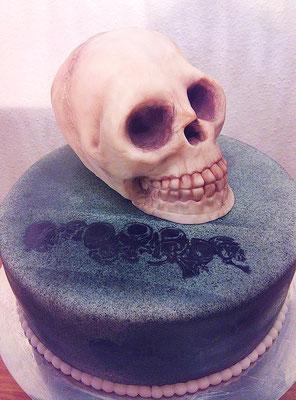 Skull Torte @ Renates Torten Design