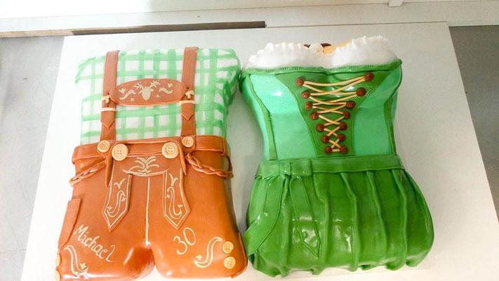 Hochzeitstorte Tracht Renates Torten Design