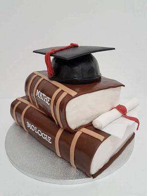 Bücher Uni Geburtstagstorte Renates Torten Design