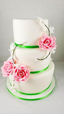 Hochzeitstorte Rosen Vorarlberg Renates Torten Design