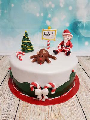 Weihnachts Kindertorte Renates Torten Design