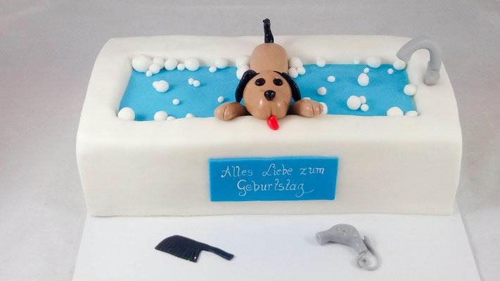 Hund  Geburtstagstorte Renates Torten Design