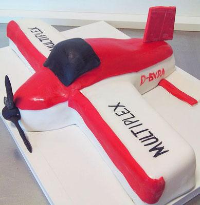 Flugzeug Torte @ Renates Torten Design