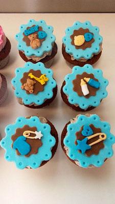 Cupcakes Baby Renates Torten Design Vorarlberg