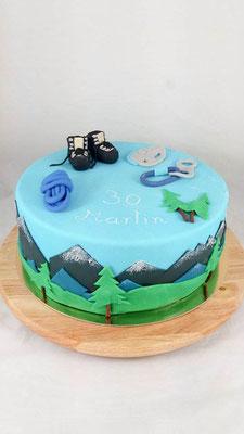 Alpen  Geburtstagstorte Renates Torten Design