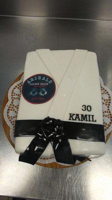 Torte Arigalo Karate @ Renates Torten Design Vorarlberg
