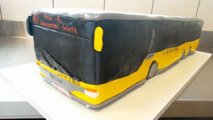 Torte Landbus  @ Renates Torten Design Vorarlberg