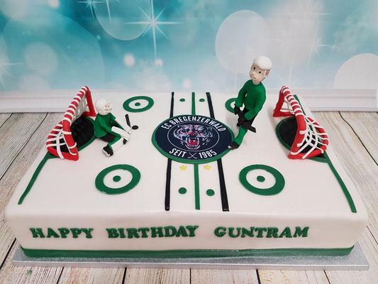 Eishockey Torte Renates Torten Design Vorarlberg