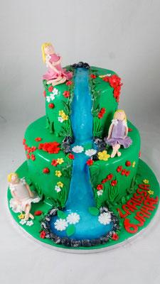 bunte Kindertorte Renates Torten Design