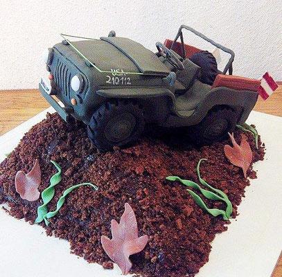 Jeep Torte @ Renates Torten Design