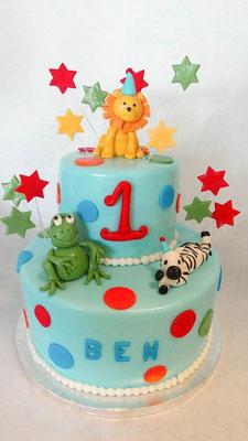 Kinder Torte 1ter Geburtstag @ Renates Torten Design