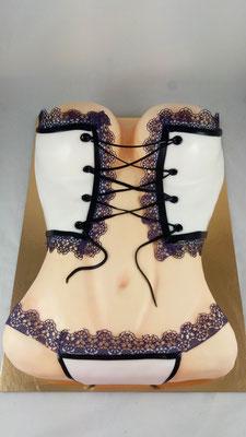 Corsage  Geburtstagstorte Renates Torten Design