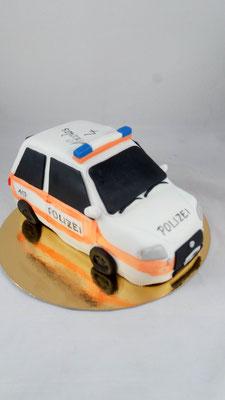 Polizei  Geburtstagstorte Renates Torten Design