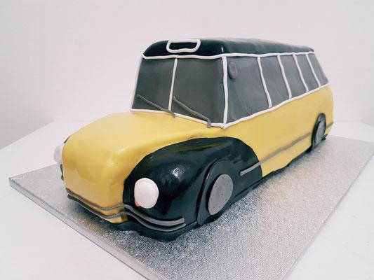 Bus Torte Renates Torten Design Vorarlberg