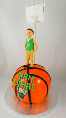 Basketball Kindertorte Renates Torten Design