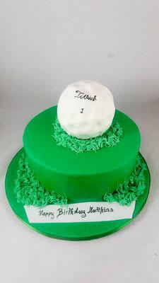 Golgf  Geburtstagstorte Renates Torten Design