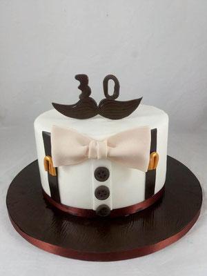 Bart  Geburtstagstorte Renates Torten Design