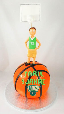 Kindertorte Basketball @ Renates Torten Design