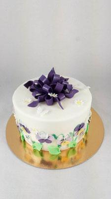 Blumen  Geburtstagstorte Renates Torten Design