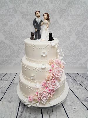 Hochzeitstorte Vorarlberg Renates Torten Design