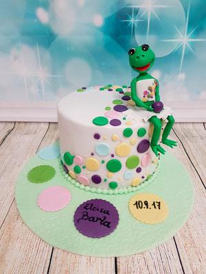 Frosch Kindertorte Renates Torten Design