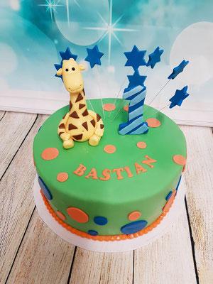 Giraffen Kindertorte Renates Torten Design