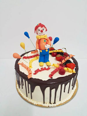 Clown Kindertorte Renates Torten Design