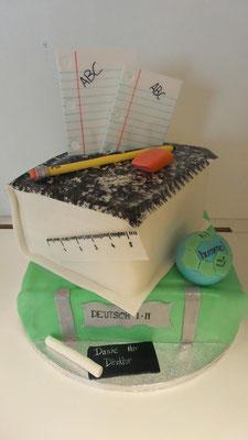 Torte Direktor Schule Wolfurt @ Renates Torten Design Vorarlberg