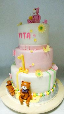 1ter Geburtstag Torte  @ Renates Torten Design