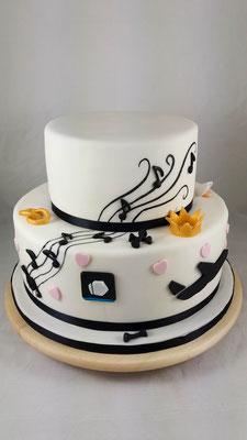 Stecktose  Geburtstagstorte Renates Torten Design
