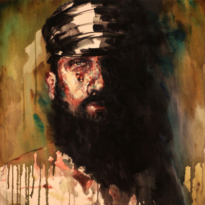 Another Gentleman, Oil/Acrylic On Canvas, 60x60cm, 2011