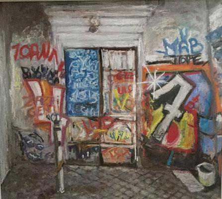 """Tags à Rome"" - Etienne DEMAN (ARTPOSTEL Normandie)"