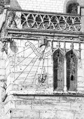 """Cadran solaire"" - Michel DENIS Soc. Art. Champagne Ardennes)"