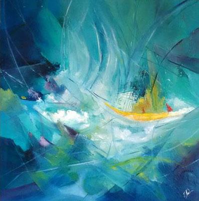 """""""Barque"""" - Jacqueline NOEL (ARTISA Bourgogne)"""