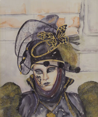 """""""Regard vénitien"""" - Christine GIRAULT (ARTISA Bourgogne)"""