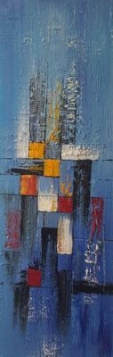 """""""Eclatement II"""" - Chantal DELAMARE (Soc. Art. Picardie)"""