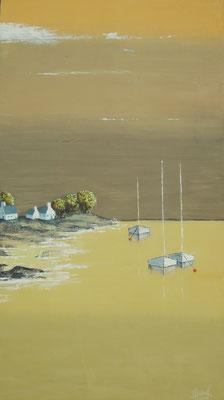 """""""Ma Bretagne"""" - Pierrette RICAUD (Soc. Art. Midi-Pyrénées)"""