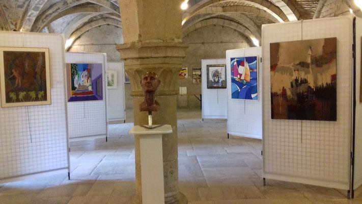 Salle d'exposition - Le Cellier de Clairvaux