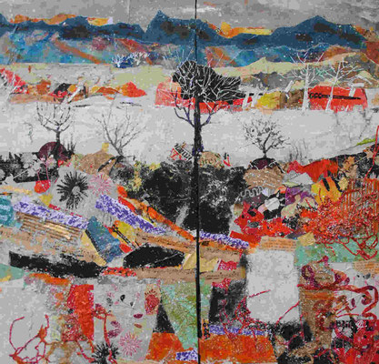 """""""Hiver aux étangs"""" - Alain ASSEMAT (Soc. Art. Languedoc)"""