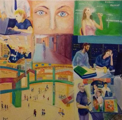 """""""Emprises multiples"""" - Denis DEGAIL (Soc. Art. Aquitaine)"""