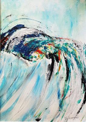 """""""La vague n°1"""" - Christiane EDMOND (AAIDF)"""