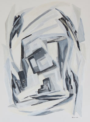 """Secrète abstraction"" - Geneviève ALBERT (Soc. Art. Languedoc)"