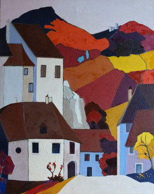 """Paysage bourguignon"" - Dominique SAUSSARD (ARTISA Bourgogne)"